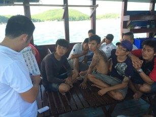 Green Fins training staff in Vietnam