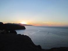 Sunset from Santa Cruz