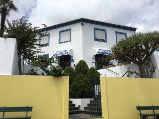 Hotel Teresinha offers comfortable rooms and a central location in Praia da Vitoria, near Octopus Diving Center. (Photo credit: Rebecca Strauss)