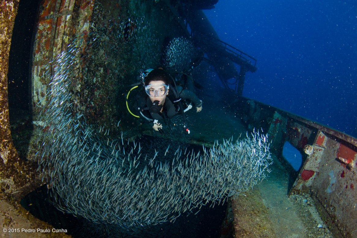 USS Kittiwake Wreck photo by Pedro Paulo Cunha under CC License