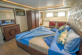 Inside a Grand Sea Explorer stateroom