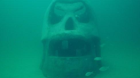 SWARA Skull by Vince Tatum (Photo courtesy of Spring Run Media)