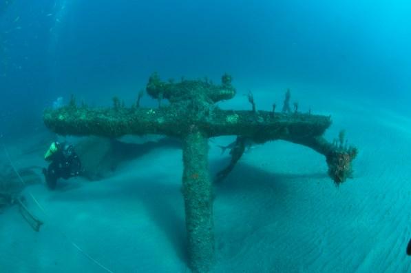 Ashkhabad's anchor. Photo: NOAA