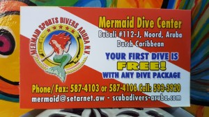 Your first dive with Mermaid is FREE with any dive package