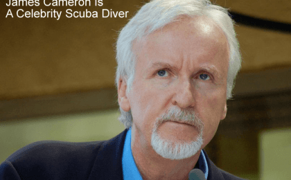 James Cameron Scuba Diving - Celebrity Scuba Divers