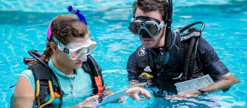 A Diving Instructor teaches people who are interested in learning how to dive either for recreational or commercial purposes. ... A Diving Instructor teaches his students the required various diving skills to prepare them for their open water dives.