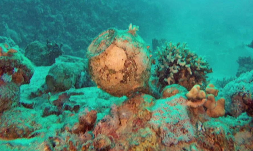 Divers reveal 1760s Red Sea wreck