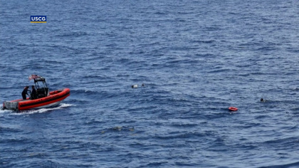 Coast Guard Suspends Search For 10 Cuban Migrants Who Went Missing After Boat Overturned Near Key West