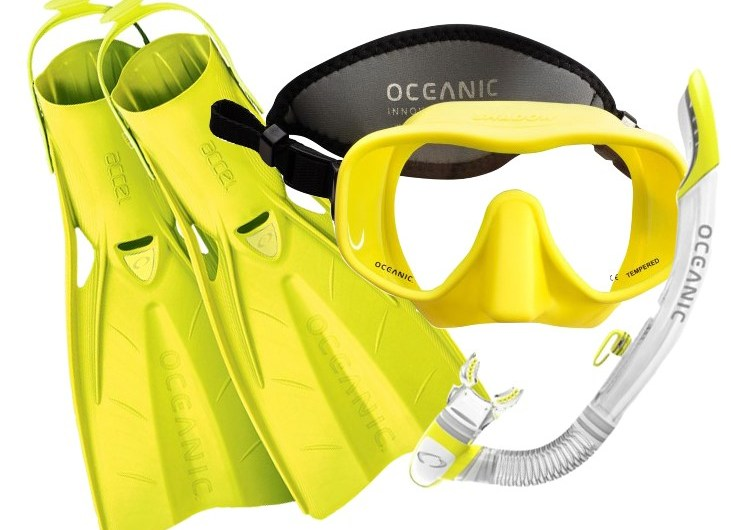 WIN! WIN! WIN! 2nd chance to win Oceanic Mask, Fins and Snorkel Set worth £157