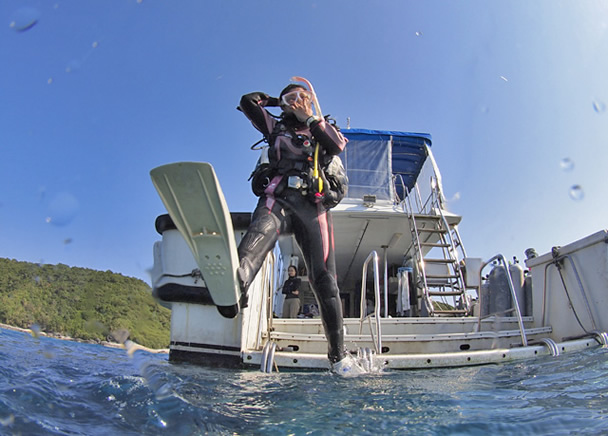 What Didn't Happen When I Started Diving