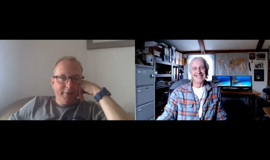 Jeff chats to… Andy Foster, Project Director of Dive Project Cornwall (Watch Video)