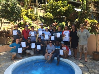 successful PADI IDC candidates