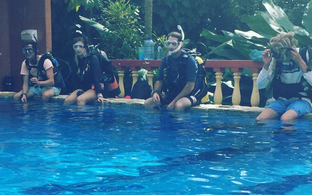 PADI IDC – Almost half way through