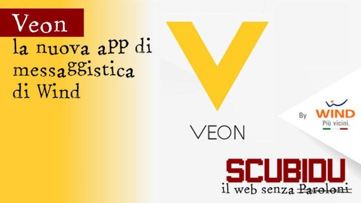 Veon | La nuova app di messaggistica di Wind