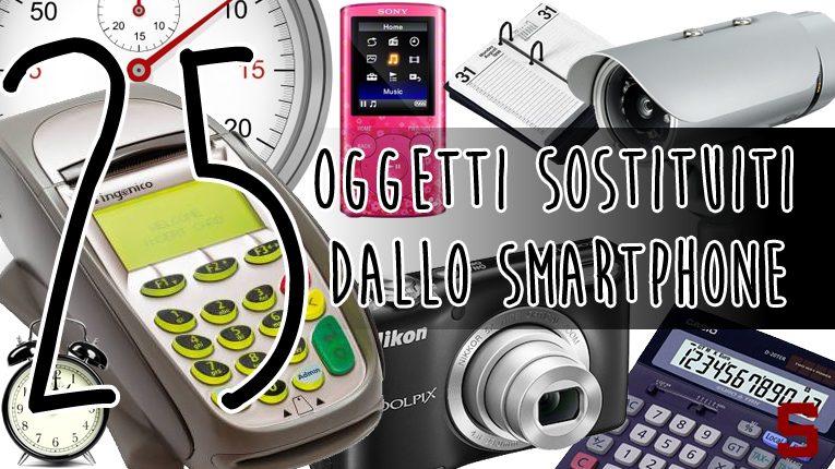 I 25 oggetti sostituiti dallo smartphone
