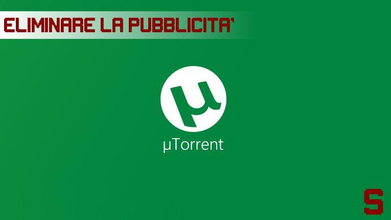 eliminare-pubblicita-utorrent