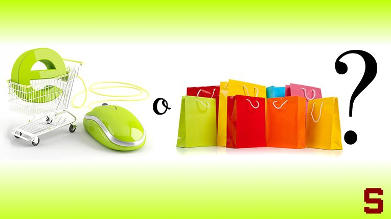 Battaglie | Shopping online o shopping tradizionale?