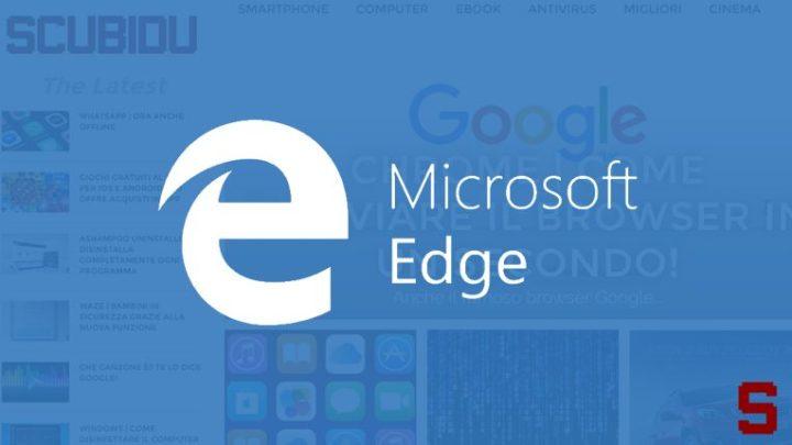 Come risolvere problema caricamento pagina Microsoft Edge