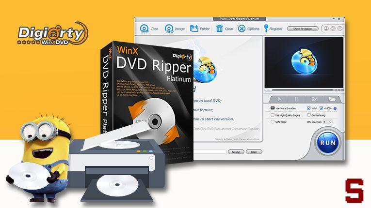 WINX DVD RIPPER | Salvare DVD su Windows, MAC, Android e iOS