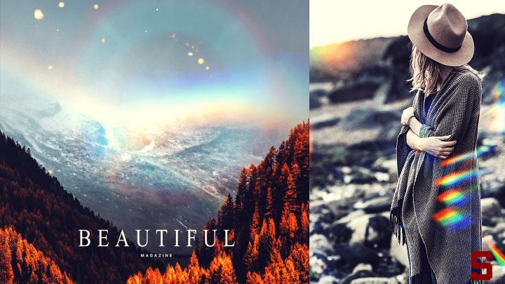 App gratis per creare arcobaleni, luci e riflessi nelle foto