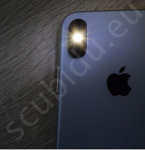 notifica flash-led su iphone