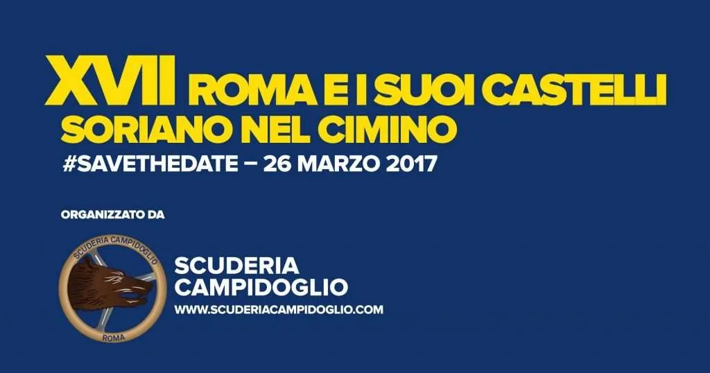 Roma e i Suoi Castelli - Save the Date - Scuderia-Roma-e-i-suoi-Castelli-2017