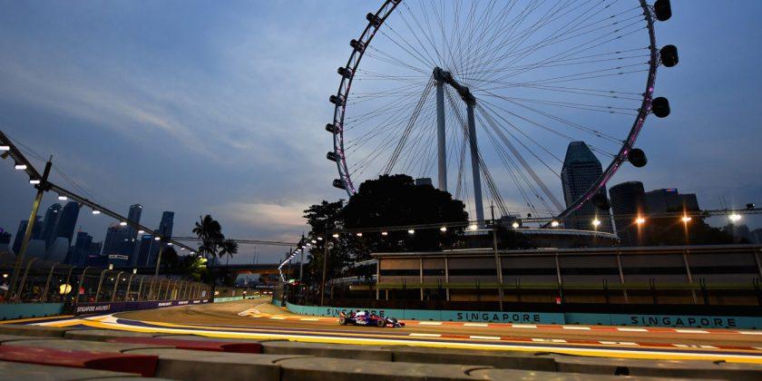 Presentazione F1 Singapore 2019 della Scuderia Toro Rosso