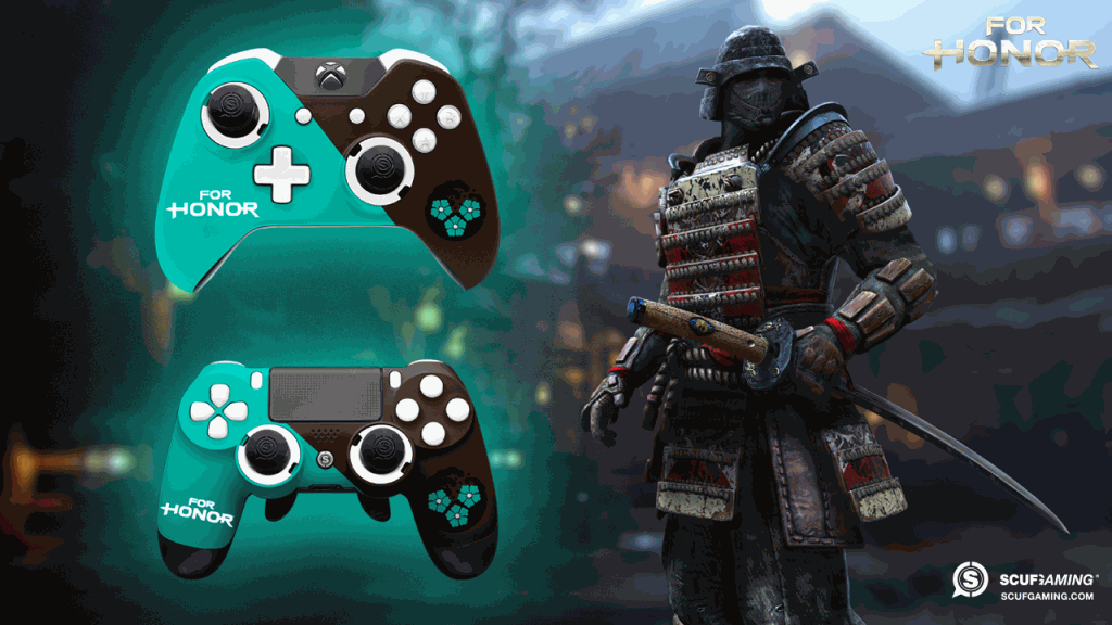 SCUFs For Honor Giveaway Win A Custom Controller