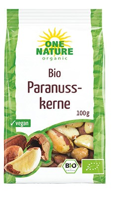 ONE NATURE – Nuci de Brazilia bio, 100 g