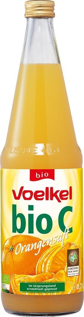 Voelkel -  Suc BIO din portocale Fairtrade 700ml