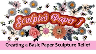 Learn Paper Sculpture on Skillshare Sculpted Paper 1: Creating a Basic Sculpted Paper Relief by Denise Ortakales. © Denise Ortakales. http://skl.sh/2u6Zft7