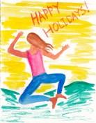 Holiday card heal clicking