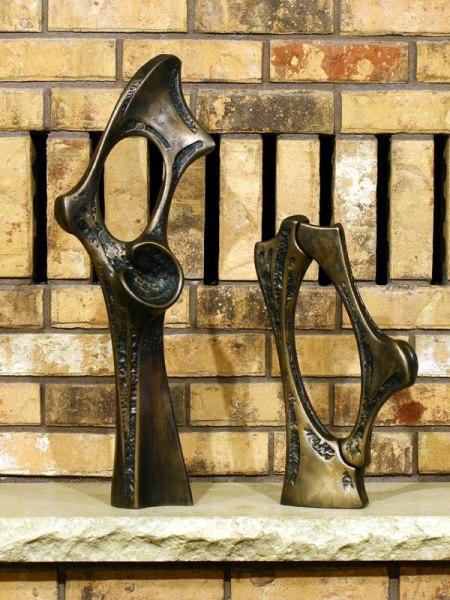Bronze sculpture artifacts