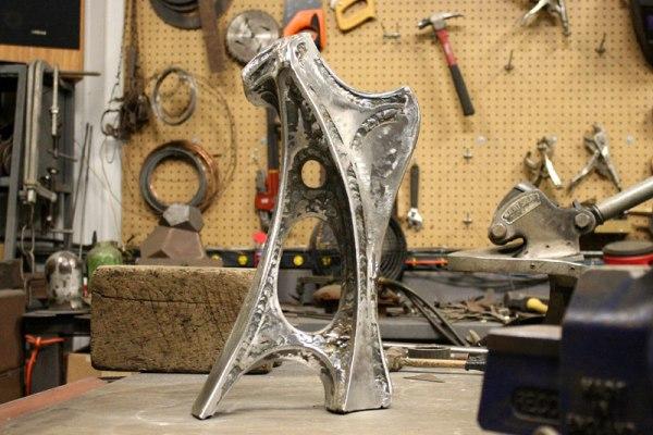 Artifact XI sculpture in progress.