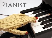 Lego Kinetic Sculpture