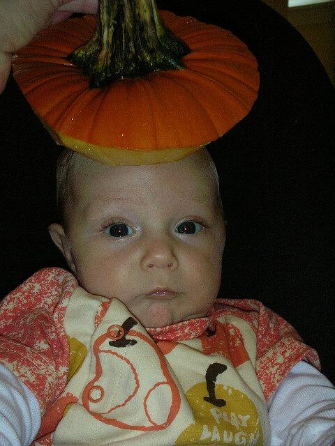 pumpkin carving fails pumpkin head