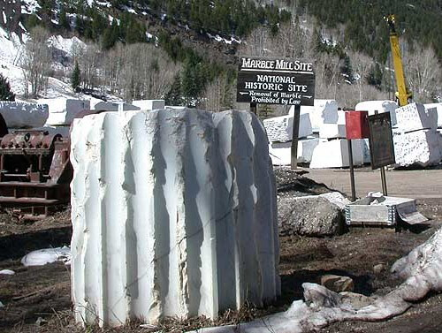 Marble mill site, Marble, Colorado