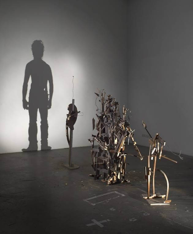 Tim Noble Sue Webster shadow sculpture Youngman