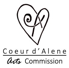 Coeur d'Alene Arts Commission logo