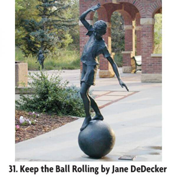 Keep the Ball Rolling by Jane DeDecker