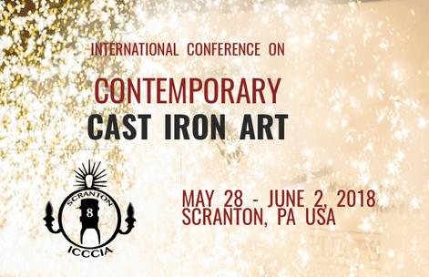 Contemporary Cast Iron Art 2018