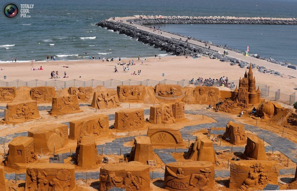 Ostend Sand Sculpture Festival 2017