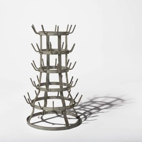 sculpture acquisition, Bottle Rack by Marchel Duchamp