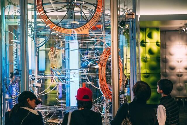Sound Machine kinetic sculpture