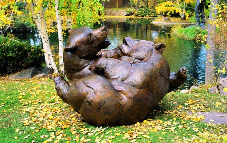 Dan Ostermiller Sculpture Featured In Santa Fe Botanic Gardens