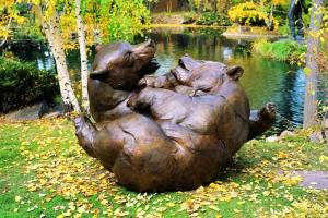 Boys will be Boys sculpture by Dan Ostermiller