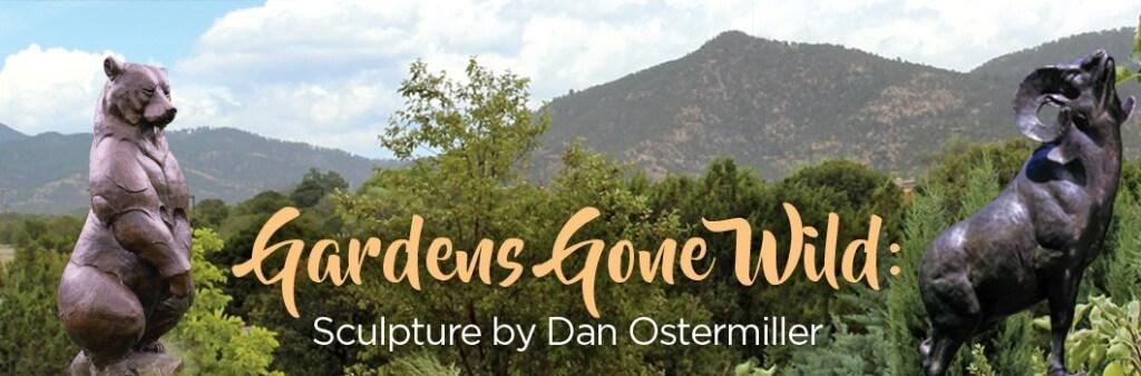 Dan Ostermiller Sculpture in Santa Fe Botanic Gardens