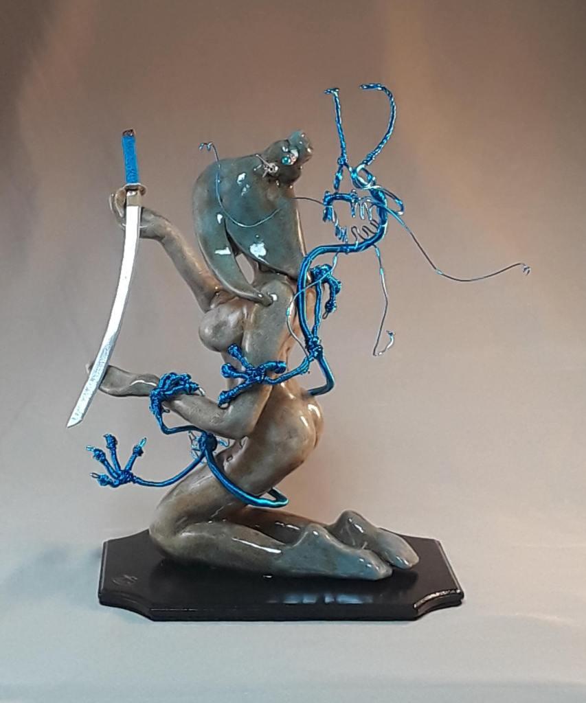 Tym Davis Sculpture Series: Makoto