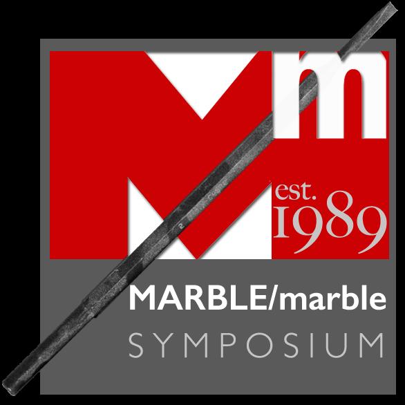 Marble/marble Symposium logo