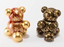 Anyuta Gusakova sculptor: MoBears Around the World Dragon Bear and Mishka
